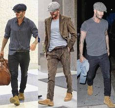 Gentleman Style 634374297495632836 - Mens hat Source by jackybruet Cowgirl Style Outfits, Outfits With Hats, Casual Outfits, Men Casual, Gentleman Mode, Gentleman Style, Style David Beckham, David Beckham Hat, David Beckham Fashion