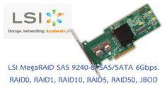 Technical Specifications ของ RAID Card LSI MegaRAID SAS 9240-8i Specifications #RAIDCard #RAID0 #RAID1 #RAID5 #JBOD