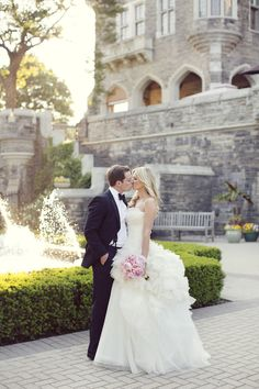 omg yes to everything!!! Photography: Sarah Kate Photographer - sarahkatephoto.com/  Read More: http://www.stylemepretty.com/canada-weddings/ontario/toronto/2013/12/19/casa-loma-wedding/