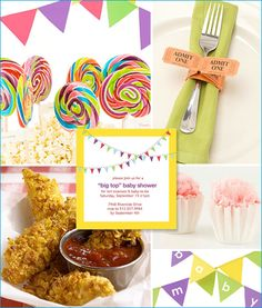 """This """"Big Top Baby Shower"""" is another one of the baby shower ideas that I worked on for Parents.com - and it's also the one that I'm dying to actually try"""