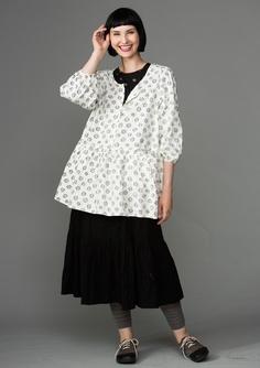 Eco-cotton skirt – Summer 2013 – GUDRUN SJÖDÉN