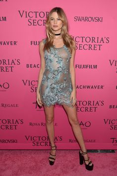 Pin for Later: All the Must-See Action From the 2015 Victoria's Secret Fashion Show Pictured: Behati Prinsloo