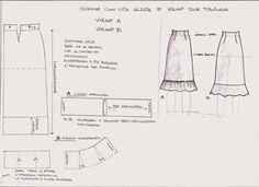 Abbigliamento donna: tabella di conversione di taglie e