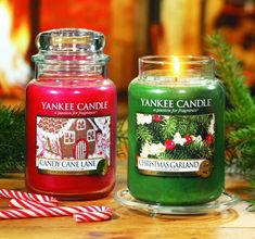 "Christmas 2014 UK and Europe releases: ""Candy Cane Lane"" ""Christmas Garland"" Yankee Candle"