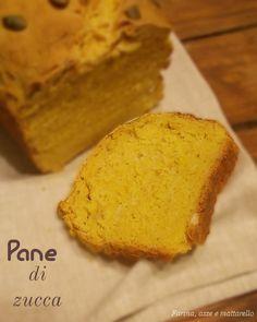 farina asse mattarello: Pane di zucca