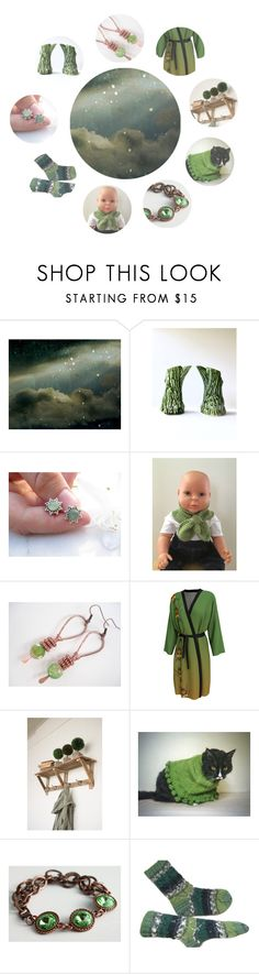 """In The Etsy Orbit"" by jarmgirl on Polyvore featuring vintage"