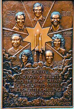Space Shuttle Challenger Memorial ( - - Find A Grave Photos - Whirlpool Galaxy-Andromeda Galaxy-Black Holes Challenger Space, Space Shuttle Challenger, Challenger Explosion, Project Mercury, Nasa Space Program, Nasa History, Old Cemeteries, National Cemetery, Workout Fitness