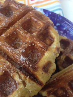 Belgian Pretzel Waffles
