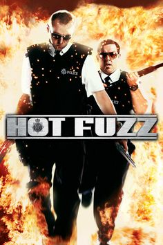 """Hot Fuzz"", action comedy film by Edgar Wright (UK, British Comedy Movies, Good Comedy Movies, Funny Movies, Great Movies, Film Movie, Kids Comedy, Comedy Film, Awesome Movies, Funny Comedy"