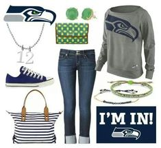 Accessorize for the #Superbowl! #GoHawks www.stelladot.com/kristievickers