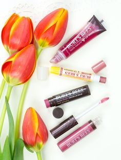 #ad 100% Natural Lip Color from @Burt's Bees Lip Shine, Shimmer, Tinted Balm & Lip Gloss #NatureKnowsColor  I love these soft spring shades!