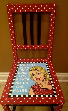 Adult size chairs - Alice Hinther Designs full version of chair