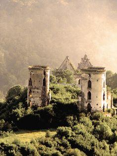 Chervonogorod castle, Ternopil region, Ukraine