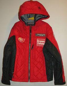 Boys SPYDER Austria Ski Team 2007 Racing Jacket Medium 10 12 Ski Wear ccc1f5dfd