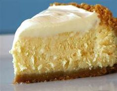 5 minute-4 ingredient no bake Cheesecake: 1 can of sweetened condensed milk- 1 (8 oz) Cool Whip- 1/3 cup of lemon juice- 1 (8 oz) pkg of cream cheese- Graham crust.../click to see