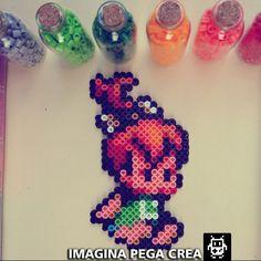 Pebbles Flintstone hama beads  by imaginapegacrea