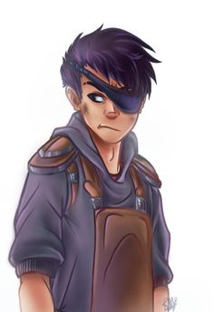 This is Ethan Nakamura from Percy Jackson. Frank Zhang, Jason Grace, Piper Mclean, Hazel Levesque, Leo Valdez, Percy And Annabeth, Annabeth Chase, Percy Jackson Fandom, Solangelo