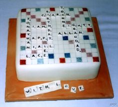 Words with friends cake. lol