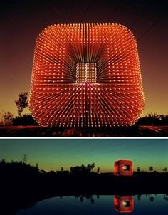"""The Sitooterie"" structure designed by Heatherwick Studio for the National Malus Collection."