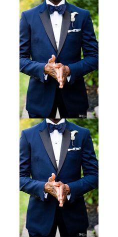 2017 new royal Blue Notched Collar Groom males swimsuit Formal Event terno smoking ., anzug 2017 new royal Blue Notched Collar Groom males swimsuit Formal Event terno smoking … - Best Suit's Royal Blue Suit Wedding, Royal Blue Tux, Men's Tuxedo Wedding, Bleu Royal, Wedding Men, Prom Suit Blue, Royal Blue Weddings, Best Man Outfit Wedding, Trendy Wedding