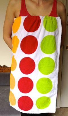 la vie en rose: DIY Spa Wrap/Towel