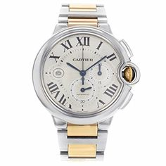 Price:       (adsbygoogle = window.adsbygoogle    []).push();  Stainless steel case with a stainless steel and 18kt rose gold bracelet. Fixed stainless steel bezel. Silvered flinque dial with sunray finish, sword-shaped blued steel hands and Roman numerals hour markers. Minute markers....