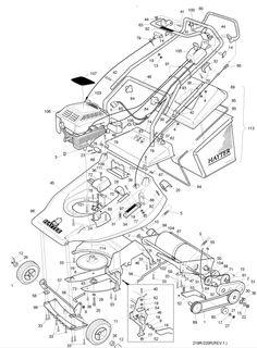 Hayter Harrier 48 485V001001 SPARES ORDERING DIAGRAMS