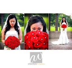 Yes to red bouquet