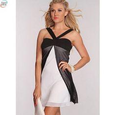2 farget kjole