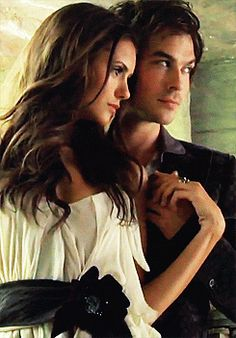 Nian - Nina Dobrev - Ian Somerhalder - The Vampire Diaries. CUTE DRESS. Love the vampire diaries.Please check out my website thanks. www.photopix.co.nz
