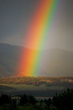 Rainbow in Frisco, Co. by michal818, via Flickr