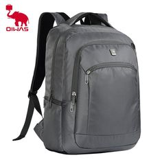 a72a8f3c17ef Oiwas Casual Business Style Students School Bag Men Women Travel Backpack  14 Inch Laptop Notebook Bag-in Backpacks from Luggage   Bags on  Aliexpress.com ...