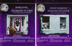 Bundle 1 Creepy Ghost Door Cover and 2 Evil Spirit Window Cover Scary Haunted House Set of Halloween Decorations by Greenbrier International ** Click image for more details.Note:It is affiliate link to Amazon. #lasvega