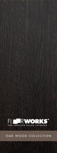Can you believe it's LVT flooring ? // Floorworks ® Oak Wood Plank Collection // California Black Oak // Learn more & order samples here http://matsinc.com/commercial-flooring-products/contract-flooring/luxury-vinyl-planks/floorworks-oak-wood.html