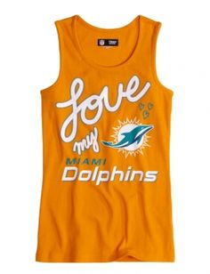 Miami Dolphins Tank. Want it!