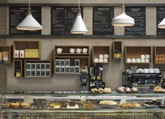 A Contemporary Interpretation of a Traditional Cafe at London cornerstone cafe5