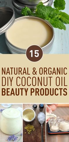 Everyone surely knows the beneficial and healing properties of pure coconut oil. It does miracles to our hair and skin thanks to the antioxidants it contains. Coconut oil has antiviral, antifungal, and antibacterial properties, so it makes a great base for almost any homemade beauty product. Say goodbye to chemicals and toxic components in your personal cosmetics, cause here is our list of top 15 coconut oil DIY beauty recipes that use natural ingredients that you can actually pronounce.