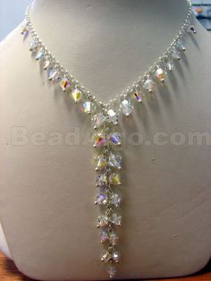 Beaded Jewelry Necklaces your Beaded Necklace Ideas With Pendant Beaded Jewelry Designs, Custom Jewelry Design, Bead Jewellery, Crystal Jewelry, Wire Jewelry, Jewelry Crafts, Jewelery, Handmade Jewelry, Necklace Designs
