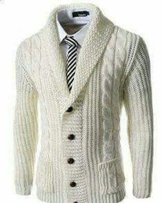 Slim Fit Shawl Collar 5 Button Knitted Cardigan, My bill cosby sunday look Style Gentleman, Gentleman Mode, Sharp Dressed Man, Well Dressed Men, Mode Masculine, Winter Stil, Mode Inspiration, Pulls, Men Dress