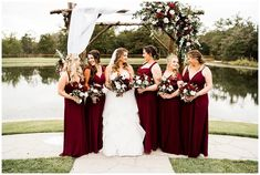 Maroon Color Palette, College Station Texas, Peach, Wedding, Valentines Day Weddings, Peaches, Hochzeit, Weddings, Marriage