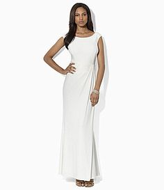 Lauren Ralph Lauren OneShoulder Sequin Gown  Dillards Wedding Dresses Under  500 5cc88c05c