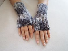 Fingirless Gloves Mittens Wool Colorfull  by BloomedFlower on Etsy, $24.00