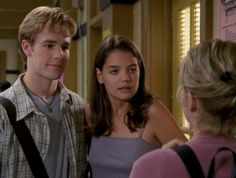Joey Potter is a fictional character on WB teen drama Dawson's Creek. She is portrayed by Katie Holmes. Joey is smart, studious and earns the prestigious honor of class valedictorian upon graduating from Capeside High. At the same time, she lacks world experience as a result of never really having set foot outside provincial Capeside. She begins the series as a tomboy with a passionate spirit, who slowly becomes more careful and subtle as she begins her life outside of Capeside.