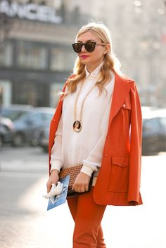 Street Style Chronicles: Paris Fashion Week Fall 2013 - The Fashion Spot