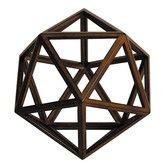 Found it at Wayfair - Da Vinci Icosahedron Platonic Sculpture