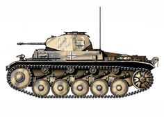 PzKpfw II Modelo C, Regimiento Panzer, División Leichte, Líbia, Panzer Ii, Afrika Corps, North African Campaign, World Tanks, Engin, Ww2 Tanks, German Army, Amazing Pics, Tamiya