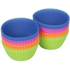 Amazon.com: #1 Rated Silicone Baking Cups / Cupcake Liners - 24-Pack -... (51 BRL) ❤ liked on Polyvore featuring home, kitchen & dining, kitchen gadgets & tools, kitchen and silicon baking cups