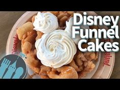 New DFB Video: Ultimate Disney Funnel Cakes in Disneyland and Walt Disney World! Yummy Treats, Sweet Treats, Yummy Food, Sweets Recipes, Cooking Recipes, Desserts, Carnival Snacks, Disney Snacks, Disney Recipes