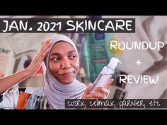 January 2021 Skincare Roundup + Reviews // korean + western [COSRX, Garnier, Celimax, etc] - YouTube