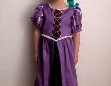 Rapunzel disfraz (patrón y tutorial)